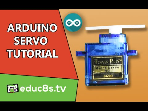 Arduino Tutorial: Using a Servo SG90 with Arduino - educ8s