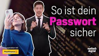 Der Passwort-Check – was ist wirklich sicher? | Einfach Digital | Folge 1