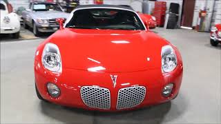 2006 Pontiac Solstice red tc