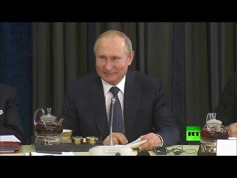 بوتين يتحدث بالألمانية من جديد  - نشر قبل 4 ساعة