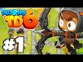 New Heroes, Graphic & Gameplay! - Bloons Tower Defense 6 Part 1 (BTD 6 IOS/Android)