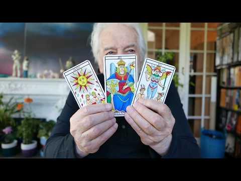 Tarot Reading video by Alejandro Jodorowsky for Emma C - english subtitles