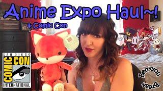 Anime Expo & Comic Con Haul!