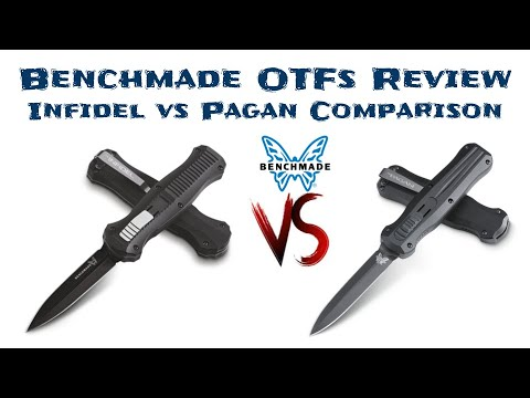 Infidel Vs Pagan - Benchmade OTF Comparison And Review