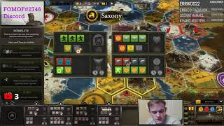 Nordic Industrial 19 Turns - LIVE stream - Scythe Board Game