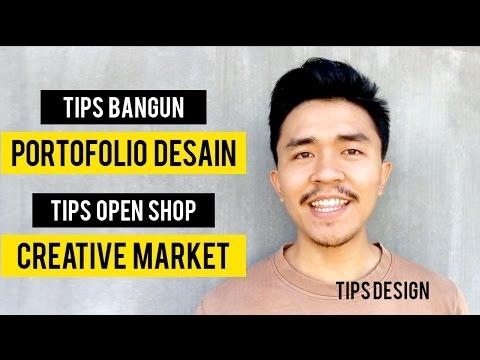 Tips Membangun Portofolio Desain + Tips Open Shop di CreativeMarket