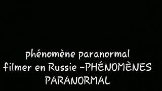 investigation paranormale