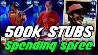 10 NEW DIAMONDS! 500K SPENDING SPREE - MLB 17 The Show Diamond Dynasty