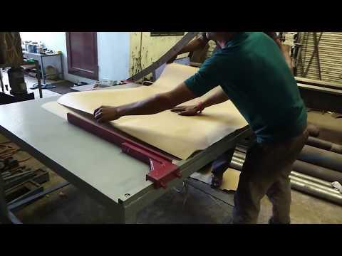 Manual Paper Cutter, cardboard paper cutting machine by shri ram industries, jaipur rajasthan