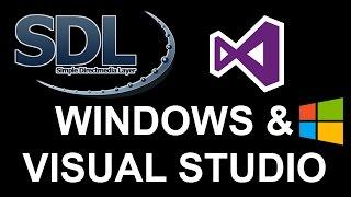 SDL 2 Tutorial 1b [SETUP] Windows en Visual Studio Setup