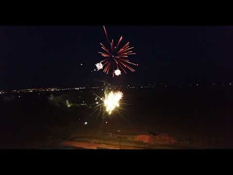 Route 66 Motor Speedway  Fireworks 6-23-18