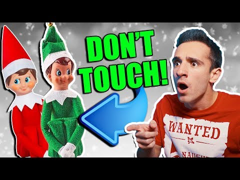 ELF ON THE SHELF IS REAL 6 DONT TOUCH