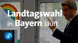 Bayern: Wahllokale geöffnet