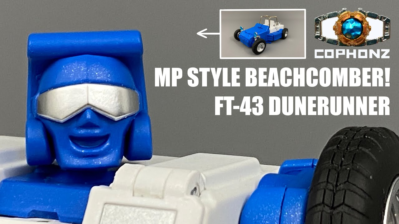 No Words Review of FT-43 Dunerunner (MP Style G1 Beachcomber) by COPHONZ