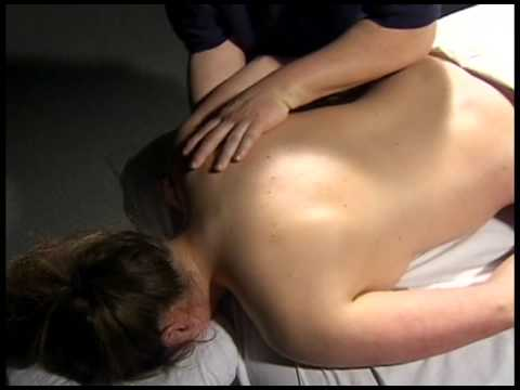 Basic Swedish Massage Strokes - Vibration: Massage Therapy Skills Video #13