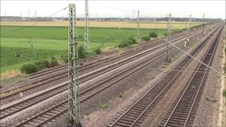 DB Regio & IC in the Countryside Between Mannheim and Hedelberg #2, 03/Aug/2014 ドイツ田舎の各駅停車とIC