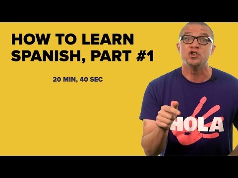 How To Learn Spanish Part