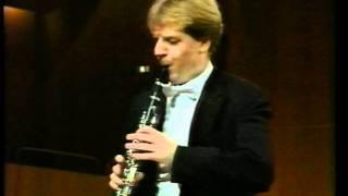 Karl-Heinz Steffens played Weber`s Clarinet Concerto nº1 (III. Rondo. Allegretto)