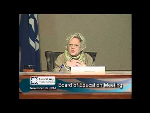 11/25/2014 - Board Meeting