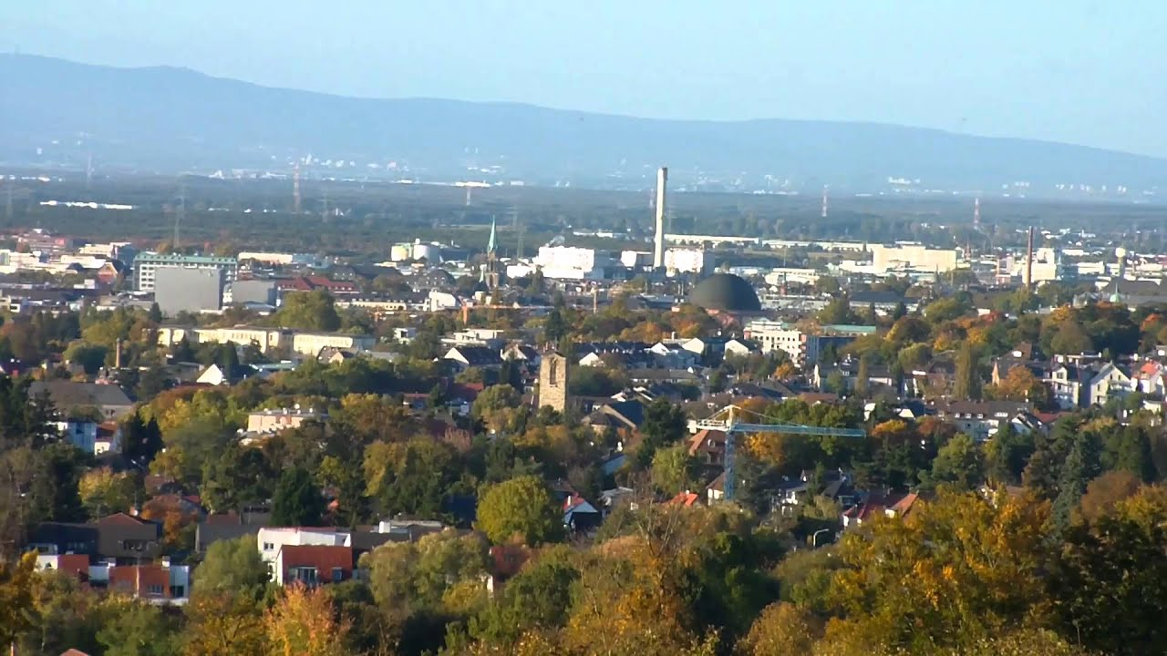 View Of Darmstadt, Hesse, Germany HD (1080p)