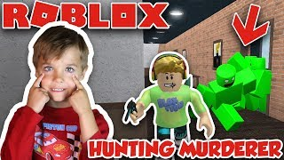 HUNTING SILENT MURDERER à ROBLOX MURDER MYSTERY 2 WINNING MULTIPLE ROUNDS AS A SHERIFF