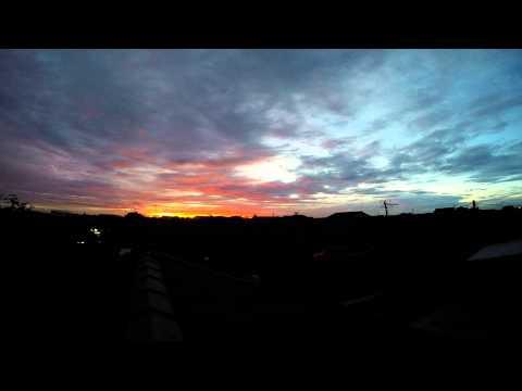 Time Lapse - Sore Menuju Malam ( UHD / 4K )
