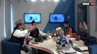 """Музыканты индийской группы Ustad Ali Hafeez Khan and party в программе """"Утро на балткоме"""" #MIXTV"""