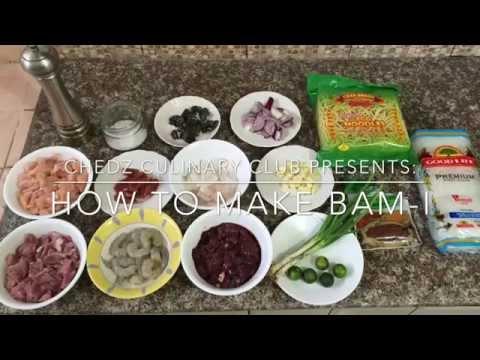 bam-i-noodles-recipe-|-chedz-culinary-club-[pinoy-recipe]