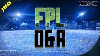 FIFA WORLD CUP 2018 Fantasy Football LIVE Q&A
