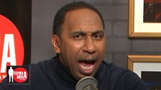 YouTube動画:Stephen A. rants about the Knicks: 'They're straight trash! They stink!' | Stephen A. Smith Show