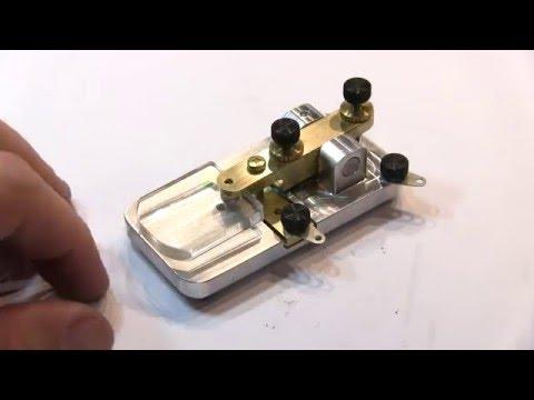 #229: American Morse Equipment KK1 morse code key assembly