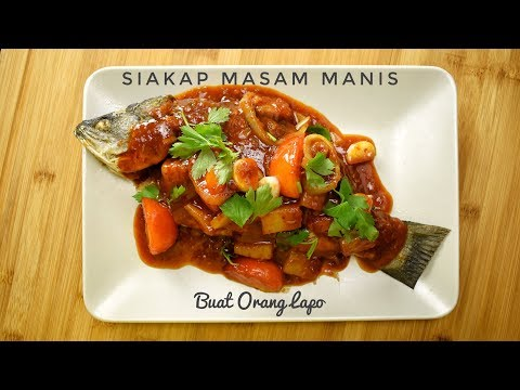 Siakap Masam Manis | Sweet Sour Sea Bass
