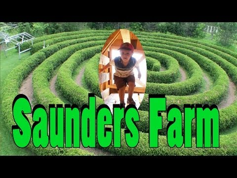 Things To Do in Ottawa, Canada: Saunders Farm for Family Fun! - a Video Tour