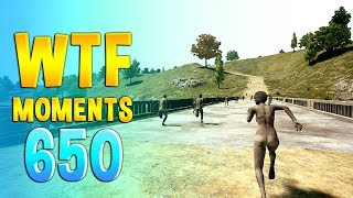 PUBG WTF Funny Daily Moments Highlights Ep 650
