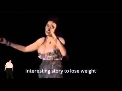 Dina Egytian belly dance hot weight loss body1