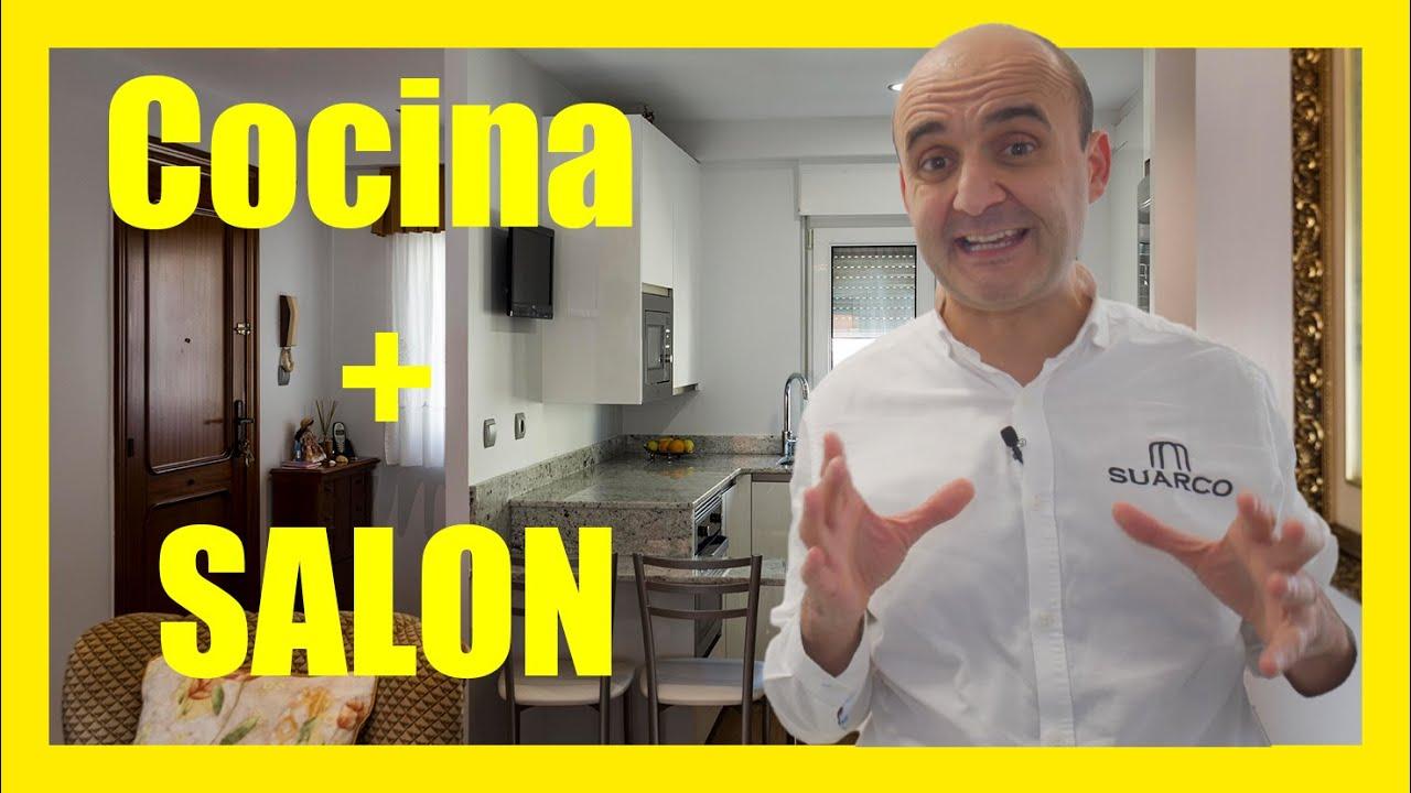 Video muebles de cocinas pequeñas blancas de diseño modernas - YouTube