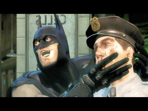 Injustice Gods Among Us Batman Arkham City Performs All Character Intros Ultimate Edition PC