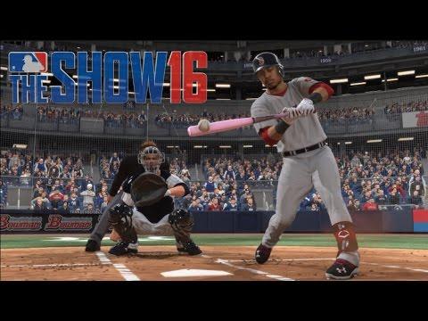 MLB The Show 16 (PS4) - Sunday Night Baseball Yankees vs Red Sox (5 Innings)