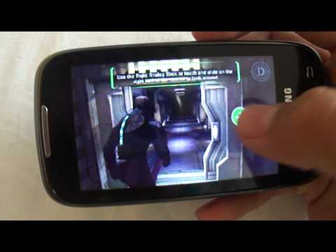 Samsung Galaxy 551(i5510)- Dead Space HD -Android