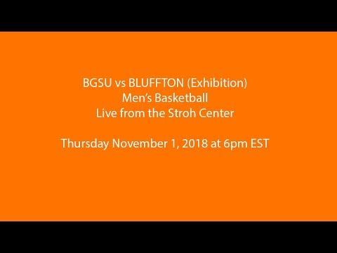 BGSU vs Bluffton - Men's Basketball