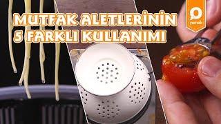 Mutfak Aletlerinin 5 Kullanımı - Onedio Yemek - Yaptım Oldu
