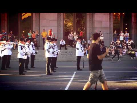 The Salamanca Band and Bugles of The Rifles in Yerevan, Armenia