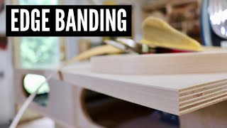 Gambar cover How To Apply Edge Banding // WOODWORKING TIPS