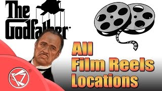 The Godfather Game | All Film Reels Locations | SECRET MISSION