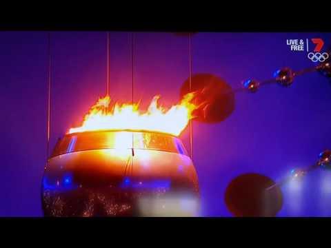 Rio 2016 - Lighting of the Cauldron