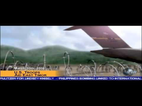 WNM - U.S. Troops Aid East Timor (SC: Pandora Tomorrow)