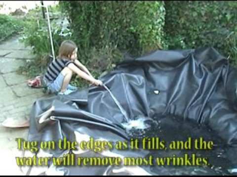How to build a fish pond youtube for Do it yourself fish pond