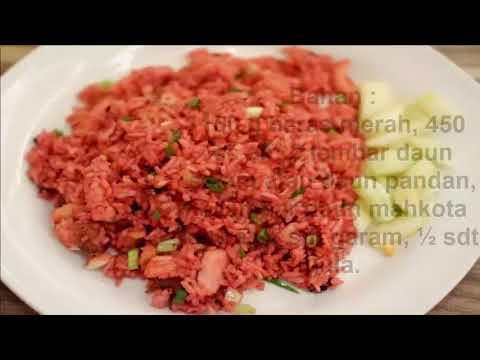 Resep Masakan Nasi Merah Untuk Penderita Kanker Serviks