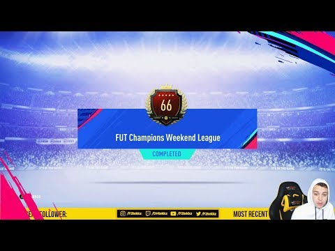 66TH IN THE WORLD TOP 100 FUT CHAMPIONS REWARDS + 4 RED PLAYER PICK PACKS! FIFA 19 Ultimate Team