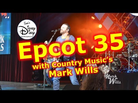 #103: County Music Mark Wills at Epcot 35